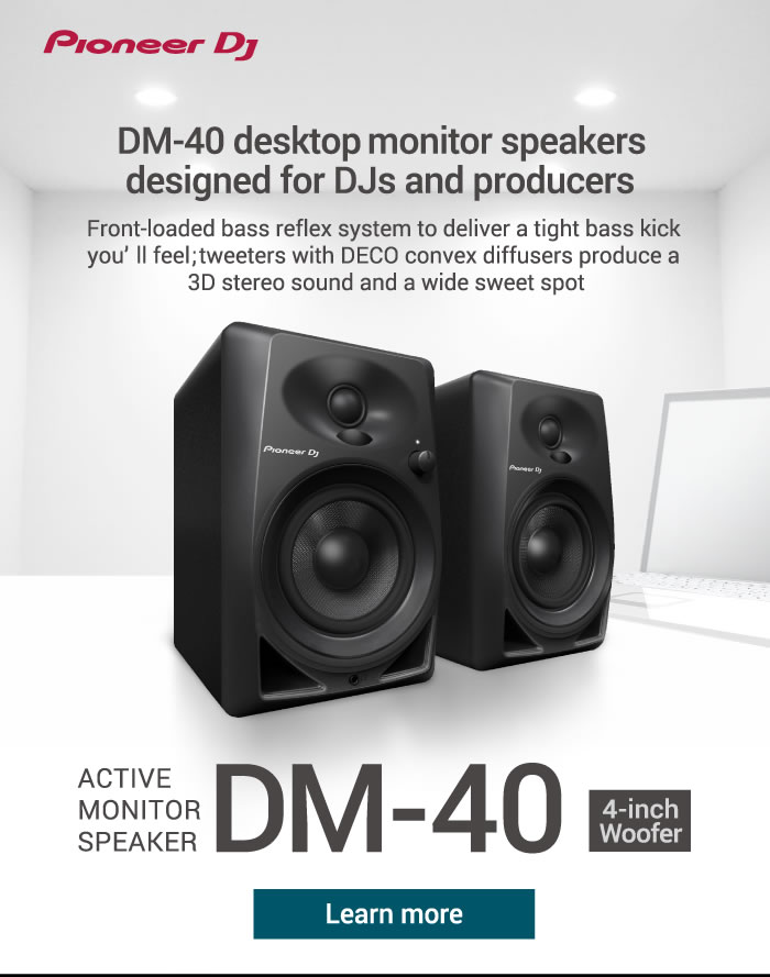 New 4 Inch Desktop Speakers For Djs And Producers
